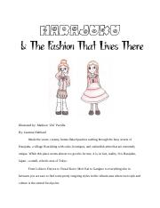 Harajuku & The Fashion That Lives There-Finale.docx