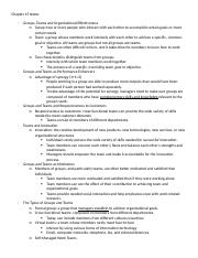 Management Chapter 15 Notes.docx