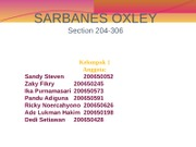 SARBANES OXLEY presentation
