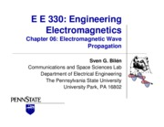 Chapter 6 - Electromagnetic Wave Propagation