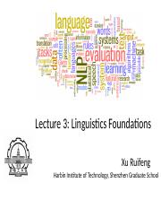 Lecture_3-Linguistics_Foundations-v2016
