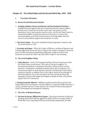 HIST 1502 Class Lecture Notes 25
