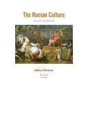 The Roman Culture by Abby Schreyer.pdf