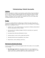 Pathos- Diabetic neuropathy.docx
