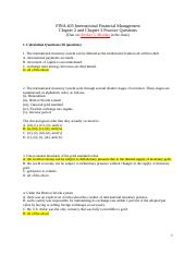 3. FINA 405 Chapter 2 and 3 -Practice Questions (upload) solution 10-3.docx