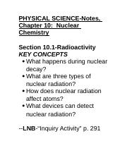 PhysicalScienceNotesChapter10NuclearChemistry.docx