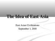 A02 Idea of East Asia