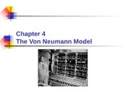 Chapter 04 - The Von Neumann Model