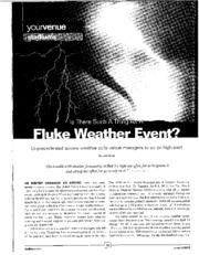 9. Life Safety - Weather