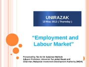 UNIRAZAK Human Resources Reated Issues in Malaysia