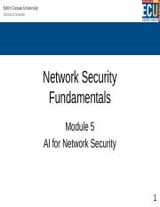 Module 5 Lecture - AI-Network-Security.pptx