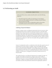 business-accounting Chapter 6 Why Should Decision Makers Trust Financial Statements.6.3 Performing a