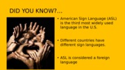 HOW TO SAY HI HOW ARE YOU IN SIGN LANGUAGE