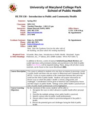 HLTH130 Syllabus-Spring 2012 Final-1