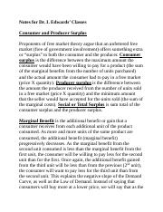 Lecture(Micro)-Consumer and Producer Surplus.docx
