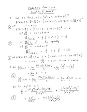 Assignment #2: Differentiability (Solutions)