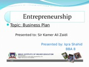 business plan-last final.ppt