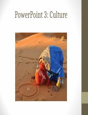 PowerPoint 3 Culture.ppt