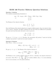 Practice Midterm Solution revised