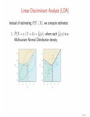 lec9_5 pdf - Linear Discriminant Analysis(LDA Instead of