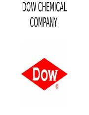 Dow Chemical Company.pptx