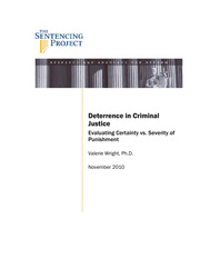 Deterrence in CJ