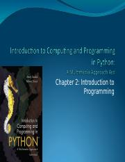 ch02-IntroductionToProgramming