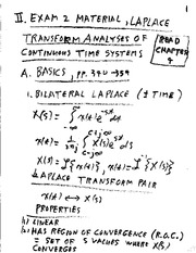 Lecture Notes F on Linear Systems