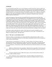 An Analysis of Leibnizs Discourse on Metaphysics