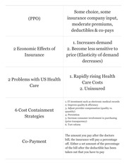 Econ 311 US Healthcare Overview
