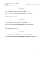 Quiz 5 potential problems ChE 350 sp10
