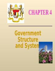 83123_CHAP4_Government Stuctures & System.ppt