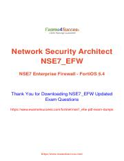 Fortinet NSE7 Exam Practice tests for Guaranteed Success.pdf