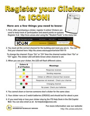 RegisterYourClickerInICON 2014