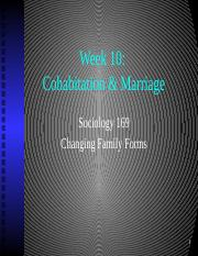 Week 10 Cohabitation and Marriage S (1).pptx