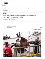 Was Your Seafood Caught By Slaves_ AP Uncovers Unsavory Trade _ The Salt _ NPR