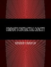 Topic 5 COMPANY'S CONTRACTUAL CAPACITY.pptx