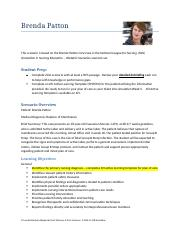 Brenda Patton Learner Document 9.2016