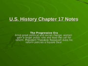 U.S. History Chapter 17 Notes (1)