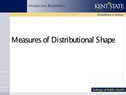 Week 2- Measures of Distributional Shape