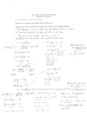 Math 1215 Lecture Notes September 11
