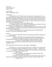 persuasive essays cheerleading