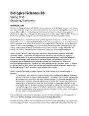 bis2b syllabus s2015 final biological sciences 2b spring 2015 rh coursehero com