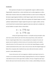 Myristic acid synthesis essay