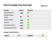 Week 5 Knowledge Check Study Guide