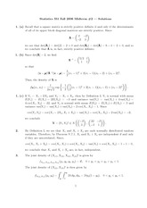 STATS 351 2006 Midterm 2 Solutions