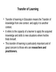 Transfer of learning.pptx