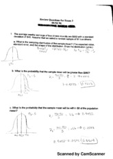 Exam 3 Review Questions
