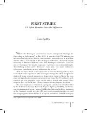 first strike US Cyber Warriors Seize the Offensive.pdf