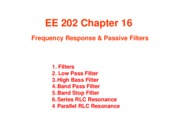 EE 202 - Lecture Notes on Frequency Response and Passive Filters - Furlani - Fall 2015.pdf